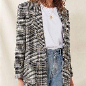 Vintage fashion blazer